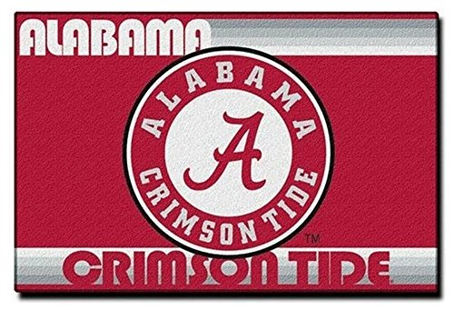 NCAA Tufted 39'' x 59'' Old Glory Series Rug (Alabama Crimson Tide) - Alabama Utility Mat