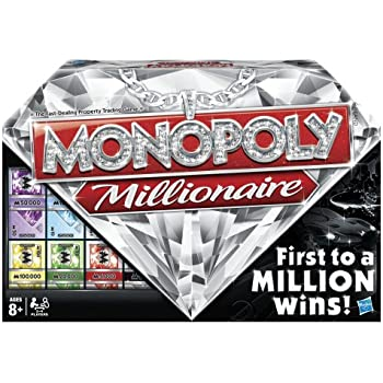 "Monopoly Millionaire ""The Fast-Dealing Property Trading"" Board Game"