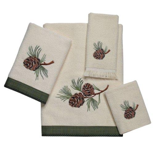 (Avanti Linen Towel Set PINE CREEK (B,H,W,T) KIT)