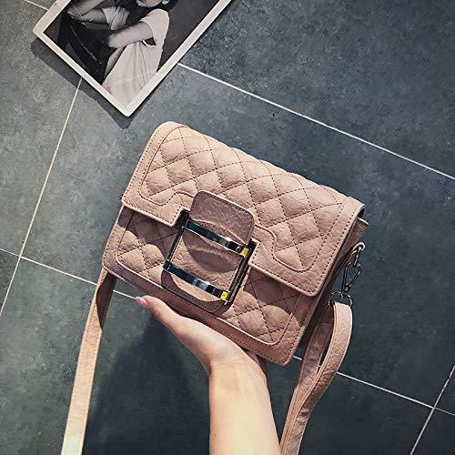 Mode marée bandoulière carré Sac WSLMHH Petit été Sauvage Rose Sac Bag à Femme Sac Messenger qtEqnAR