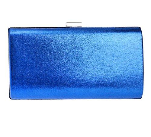 Envelope Shoulder Clubs Bag For Rhinestone Gift Ladies Handbag Women Glitter Sequin Blue Bag Evening Prom Bridal Wedding Clutch Purse Party qwSCz8