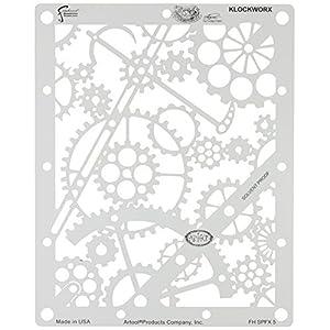 Artool Freehand Airbrush Templates, Steam Punk Fx Template – Klockworx by Iwata-Medea
