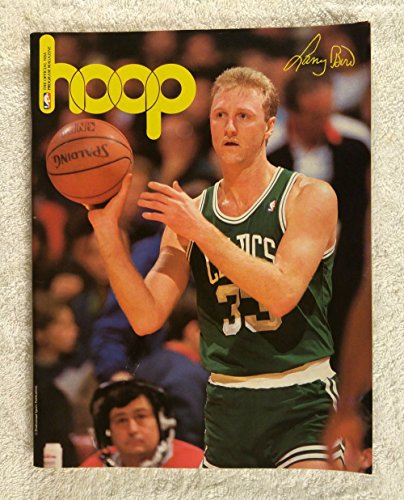 Larry Bird (Boston Celtics) - Hoop - Official NBA Magazine - 1988-1989 - Philadelphia 76ers Program