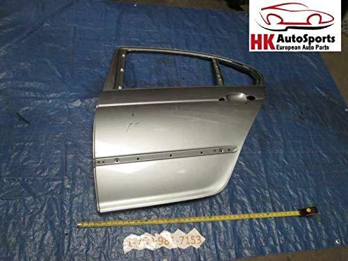 Door Shell Gray Rear Left Side Fits BMW E46 323i 325i 328i 330i Sedan 99-02