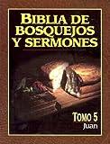 Biblia de bosquejos y sermones: Juan (Biblia de Bosquejos y Sermones N.T.) (Spanish Edition)