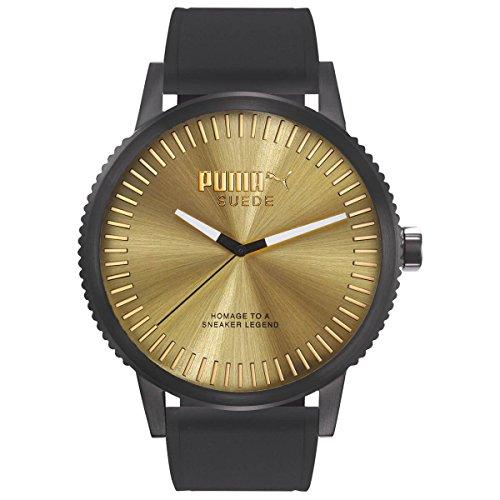 Puma Black Silicone Watch-PU104101007