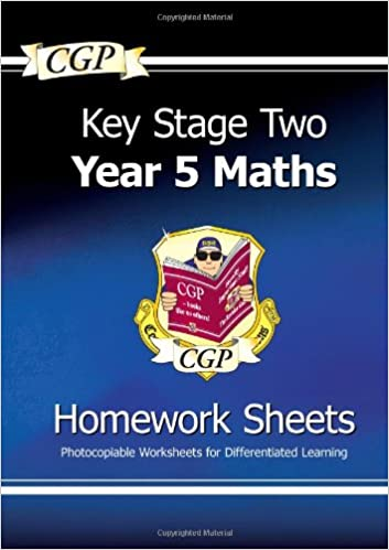 KS2 Maths Homework Sheets - Year 5: CGP Books: 9781847621887 ...