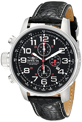 """Invicta Men's 2770 """"Force Collection"""" Stainless Steel Left-H"""
