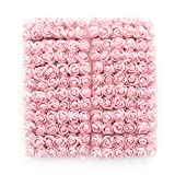roses flower heads Artificial pink Roses Flowers DIY 144 PCS head rose flowers Wedding Bride Bouquet PE Foam DIY party festival Home Decor Rose Flowers (light pink)
