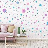 264 Pieces Polka Dots Wall Sticker Circle Wall