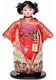 【市松人形】10号市松人形:金彩衣装(愛ちゃん):翠華作