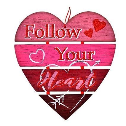 amazon com happy valentine s day wall plaques home decor decoration