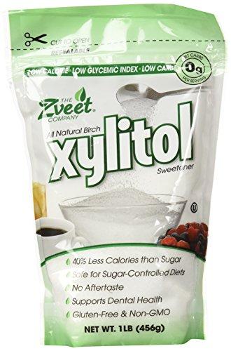 Zveet Birch Xylitol Sweetener (Made in USA) (1 LB)