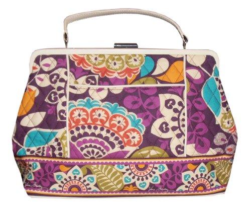 Vera Bradley Barbara Frame Bag (plum Crazy)