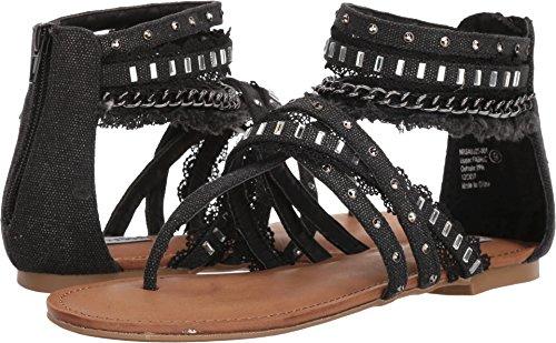 Not Rated Xara Women's Sandal 6 B(M) US Black ()