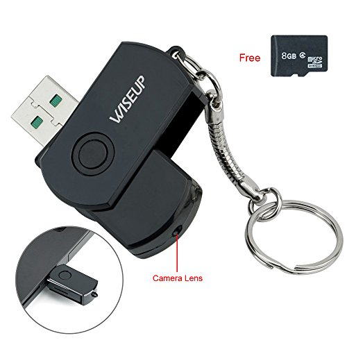 WiseupTM Recorder Camcorder Security Function