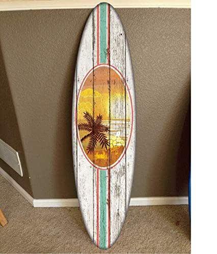 board surfboard surf surfing handmade hanging hawaiian unavailable mixed