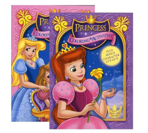 DDI 435566 Jumbo Princess Coloring & Activity Book from D&D
