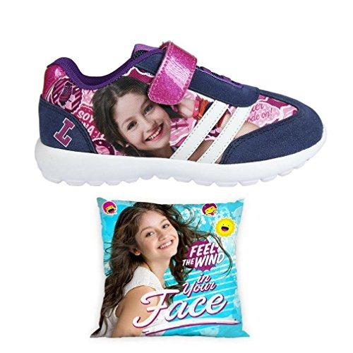 Cerdá Soy Luna Zapatillas Deportivas Ultraligeras Disney + Cojín Reversible de Regalo - Ultralite Shoes Soy Luna
