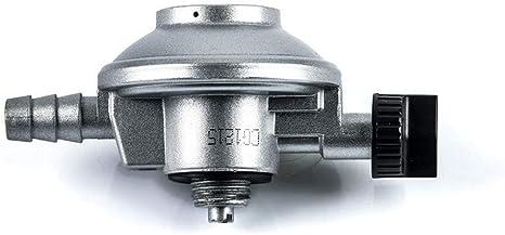 Com Gas 200033 200033-Grifo regulador 28 gr, Adaptable Botella Popular Azul, 5x9x4 cm