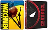 Deadpool Steelbook Exclusive Blu Ray & The Watchmen Steelbook Movie Pack Hero Bundle