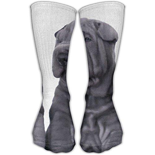 Three Shar Pei Dogs Women & Men Socks