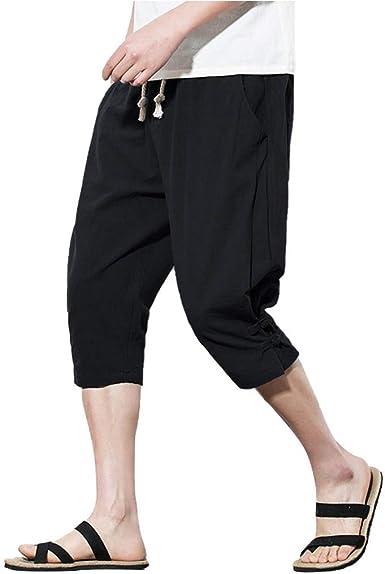 Shorts for Men F/_Gotal Men/'s Casual Flowers Printed Beach Pants Elastic Waist Sports Pants Training Jogger Shorts Sweatpants