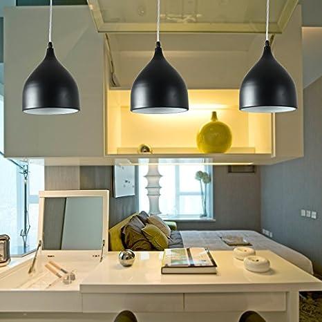 Semplice personalizzato ristorante Nordic lampadario abat-jour cafe ...