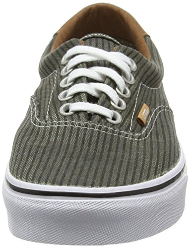 Vans Era 59 - Zapatilla Baja Unisex Adulto Verde (Washed Herringbone/Grape Leaf)