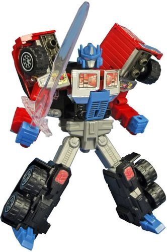 Laser Optimus Prime (Battle Convoy), used for sale  Delivered anywhere in USA