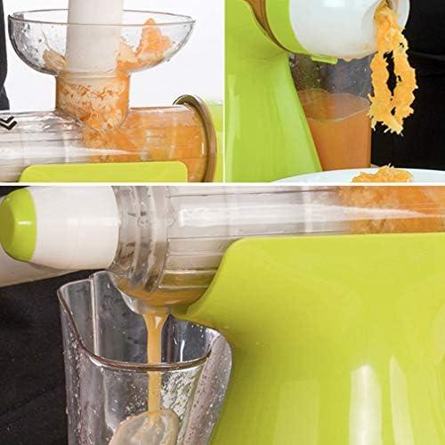 Bleyoum Exprimidor Manual Exprimidor Manual Multifuncional Herramienta De Frutas Y Verduras Helado + Exprimidor Práctico Accesorios De Cocina De Salud Natural