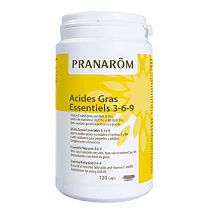 Omega 3-6-9 120 cápsulas de Pranarom