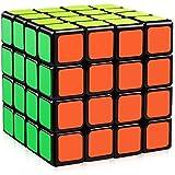 D-FantiX Yj Moyu Guansu 4x4 Speed Cube Puzzle Cube Black 62mm