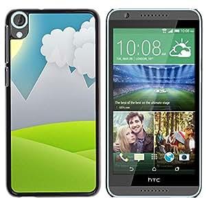 Smartphone duro funda protectora para HTC Desire 820/funda TECELL tienda/minimalista Grass Valley