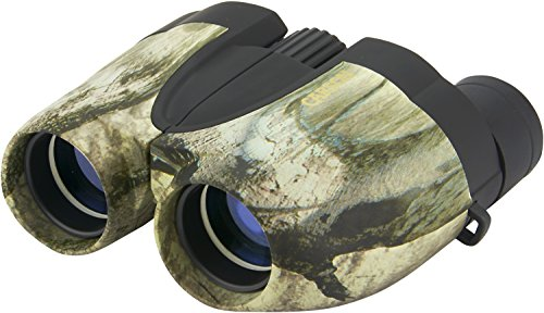 Carson 10x25mm Outlaw Mossy Oak Treestand Camouflage Bino...