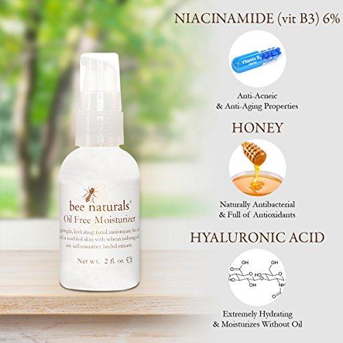 El mejor humectante sin aceite de Bee Naturals - Limpiador facial-5689