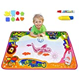 Bwealth Aqua Magic Mat, Kids Toys Large Water Drawing Mat (34.6'' X 22.8'') in 6 Colors Toddlers Painting Board Writing Mats for Boys Girls Educational Gift