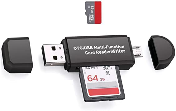 Mini Memory Card Reader To USB 2.0 Adapter for Micro SD SDHC SDXC TF Memory Card