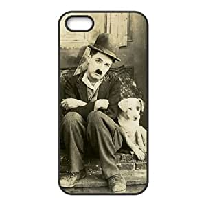 iPhone 4 4s Cell Phone Case Black Charlie Chaplin Vintage Phone Case Cover Custom Customized CZOIEQWMXN12442