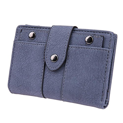 Blue Widewing Handbags Purse Wallets Zipper Women Light Clutch Green PU Leather Short wPCUwxpq6