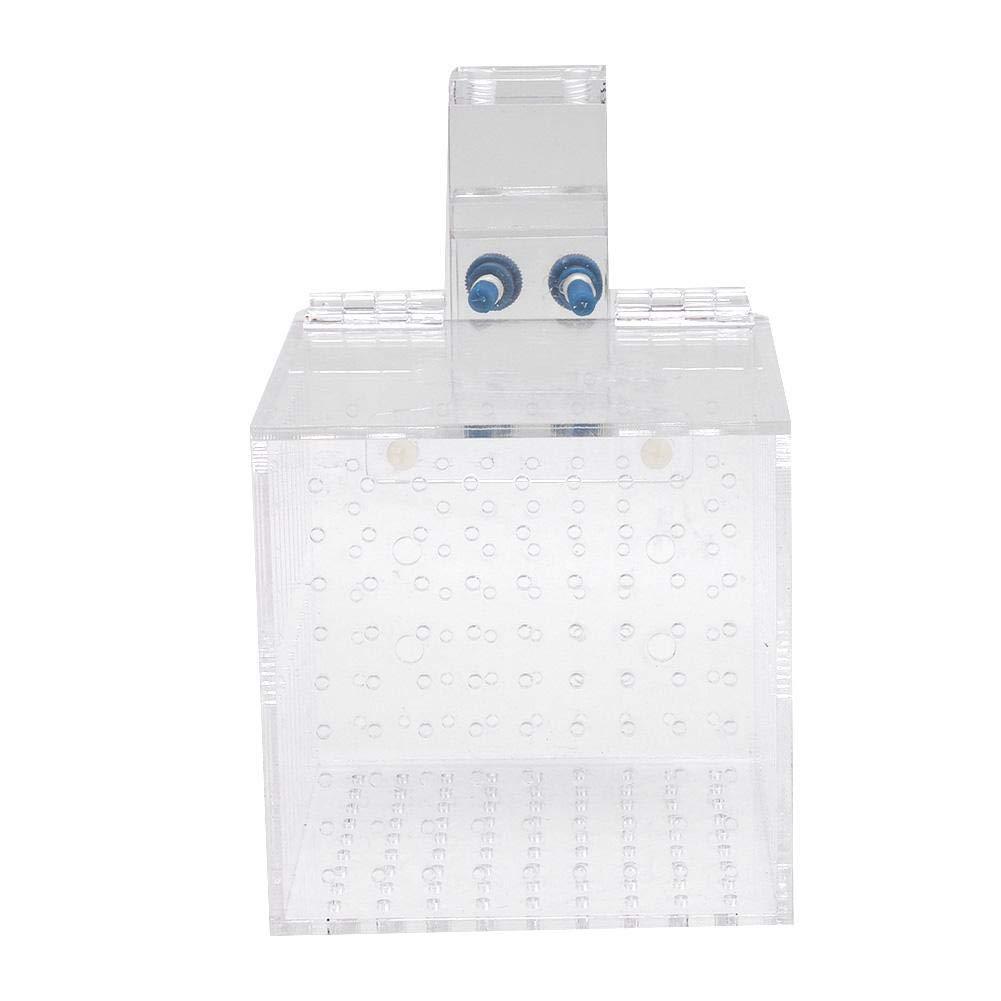 Aquarium Fishes Breeding Box Fish Tank Fish Isolation Box Acrylic Fish Breeding Hatchery Multifunctional Fish Isolation…