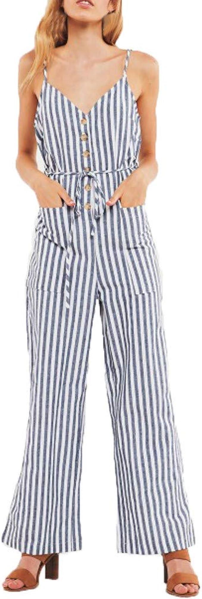 tuta elegante pantaloni lunghi da donna con 2 tasche schiena scoperta
