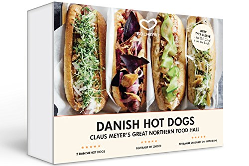 Danish Dogs at Claus Meyer's Great Northern Food Hall Experience Gift Card NYC - GO DREAM - Sent in a Gift Package