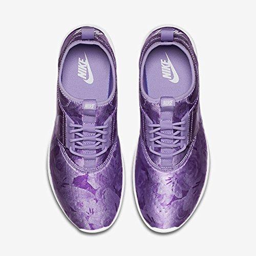Nike, Donna, Wmns Juvenate Flo Print, Tessuto tecnico, Sneakers, Viola