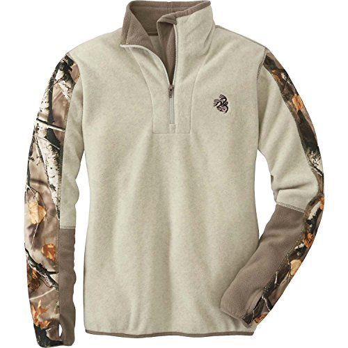 Legendary Whitetails Ladies Highlander Quarter Zip Winter Heather Small