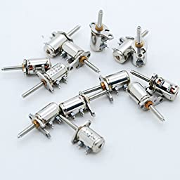 10PCS 3-5V 2 Phase 4 Wire Micro Stepper Motor Mini Stepping motor for Focusing Camera