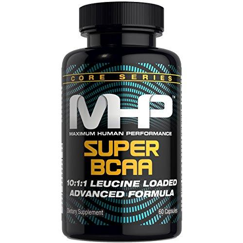 MHP Super BCAA, 10:1:1 Leucine Loaded Advanced Formula, 60 Count