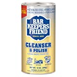 Bar Keepers Friend All-Purpose Cleaner, Stain Remover and Polish, Powder, 12-Ounces (Pack of 4)