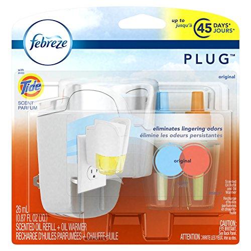 Febreze PLUG-In Air Freshener Starter Kit with Tide Original (1 Count, 26 mL)