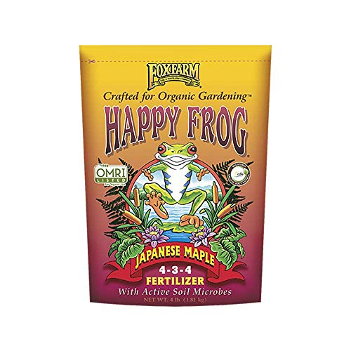 4lbs. Happy Frog Japanese Maple Organic Plant Fertilizer - New Package for -